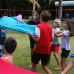 Water Bomb Volleyball Teambuilding group games